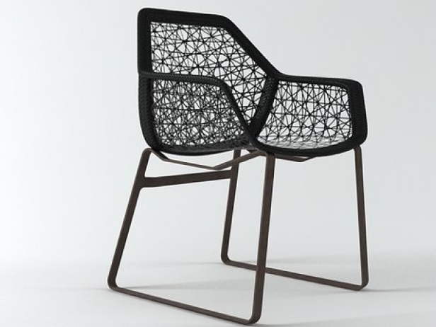 Maia dining chair 3d model kettal for Kettal maia chair