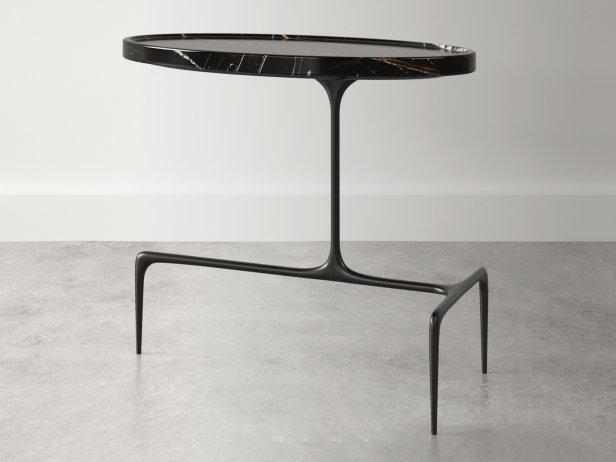 Bridger Oval Side Table 2