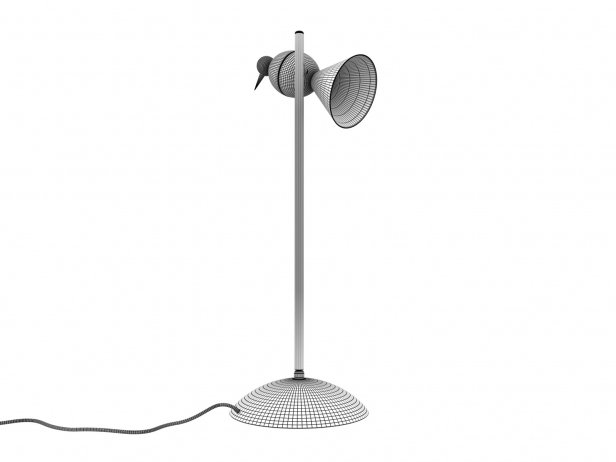 Alouette Desk Center Lamp 5