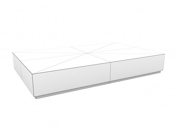 Machinto Rectangular Coffee Table 15