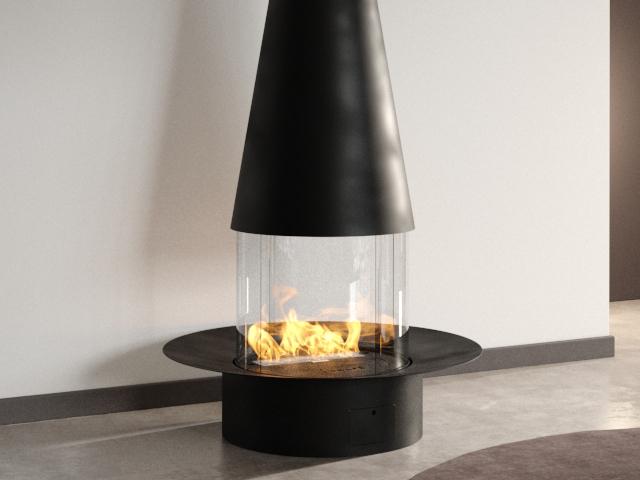 Filiofocus Central Gas Fireplace 5