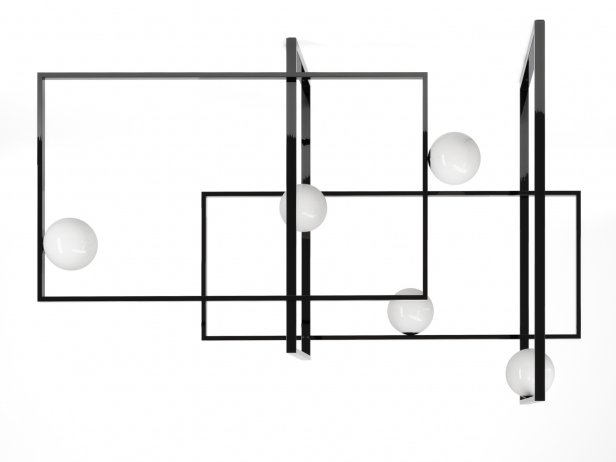 Mondrian Pendant Lamp 2