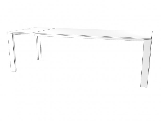 Naia Extendable Dining Table 8