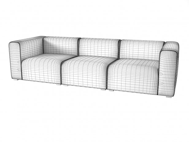 Mags 3-Seater Sofa 4
