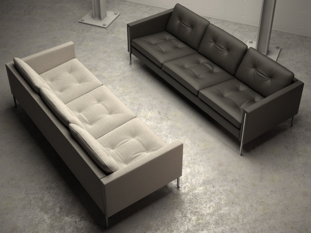 andy 3 seater mod le 3d ligne roset. Black Bedroom Furniture Sets. Home Design Ideas