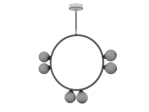 Circle 2 Globe Pendant Lamp 2