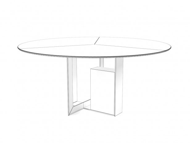 Moore Round Dining Tables 4