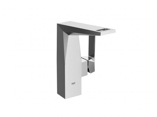 Cube Wall-hung Basin 100 Set 8