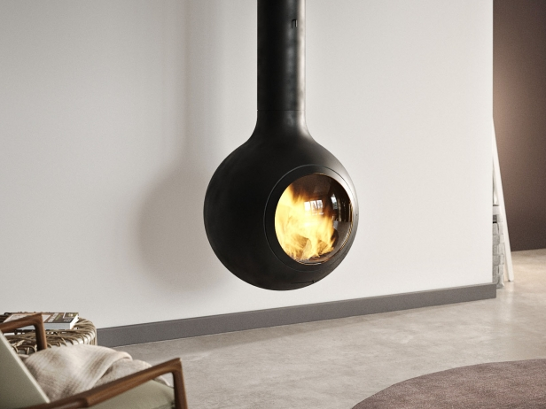 Bathyscafocus Suspended Fireplace 1
