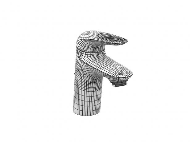 Eurostyle Semi-recessed Basin 60 Set 7