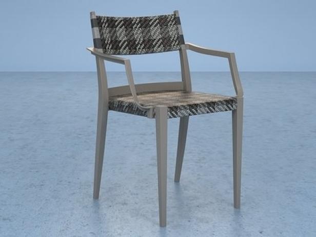 Play armchair braided 6