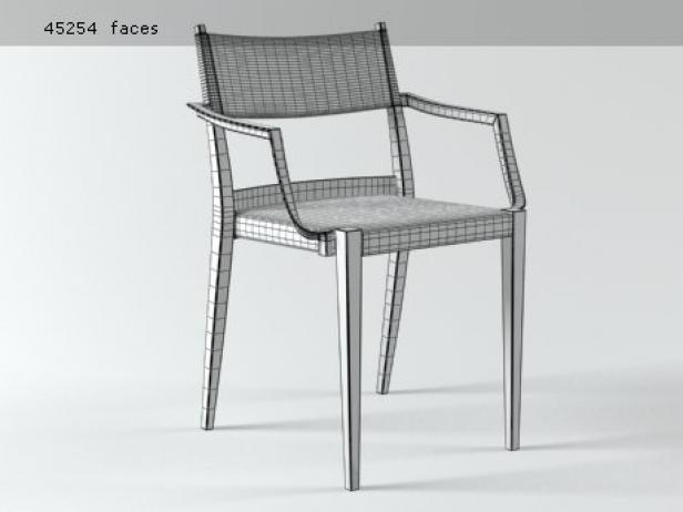 Play armchair braided 12