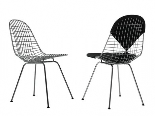 wire chair dkx 3d model vitra. Black Bedroom Furniture Sets. Home Design Ideas