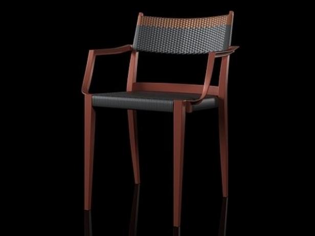 Play armchair braided 9