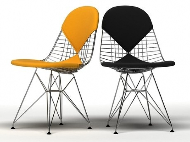 wire chair dkr 3d model vitra. Black Bedroom Furniture Sets. Home Design Ideas