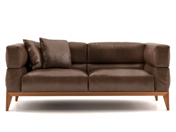 Ago sofa 178 3d modell giorgetti for Sofa skandinavisches design