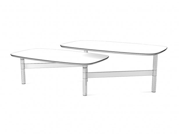 Pantographe Coffee Tables 8