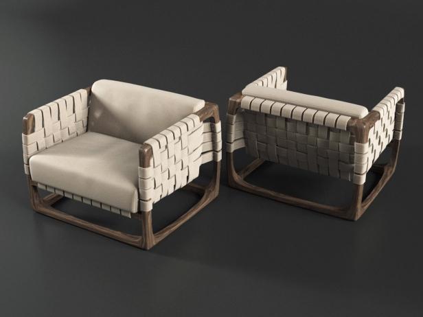 Bungalow Armchair 1