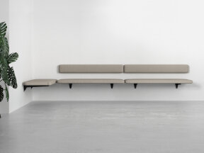 Upholstered Wall Bench