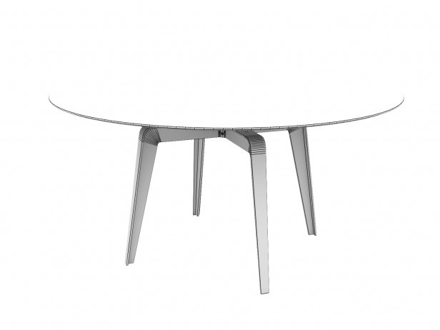 Odessa Dining Table 148 4