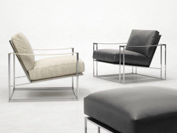 Sling Chair & Ottoman 2