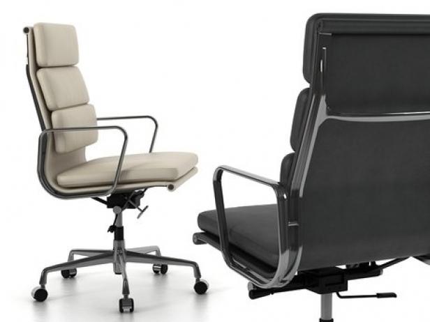 soft pad chair ea 219 3d model vitra. Black Bedroom Furniture Sets. Home Design Ideas