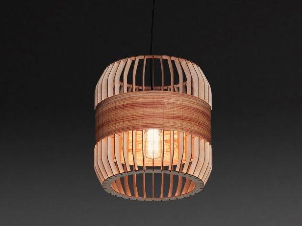 Lath Pendant Lamp 2