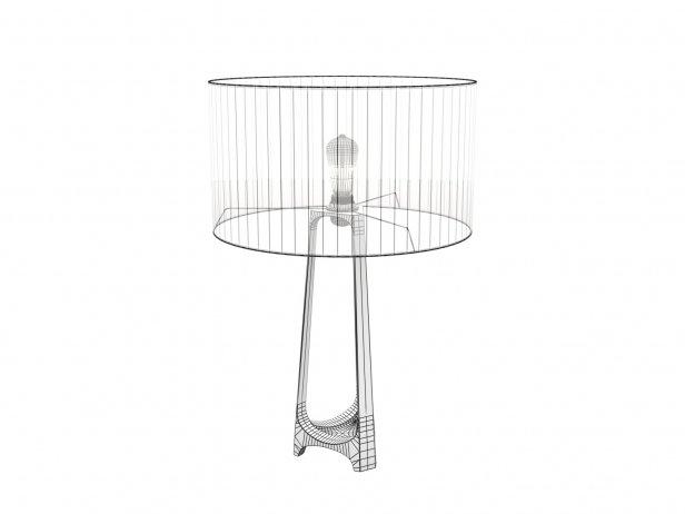 Iron Eye Table Lamp 5