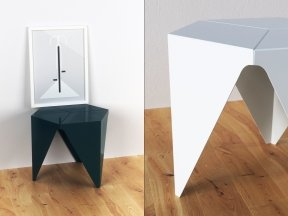 Prismatic Side Table