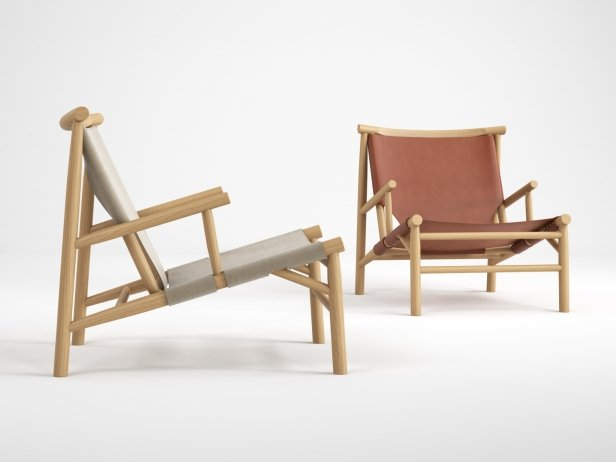Samurai Lounge Chair 1