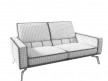 DS-87 2-Seater Sofa 6