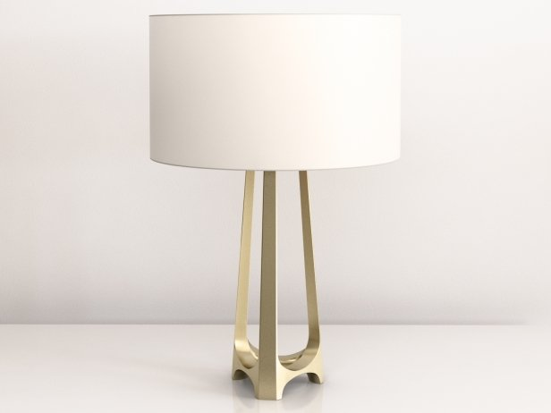 Iron Eye Table Lamp 4