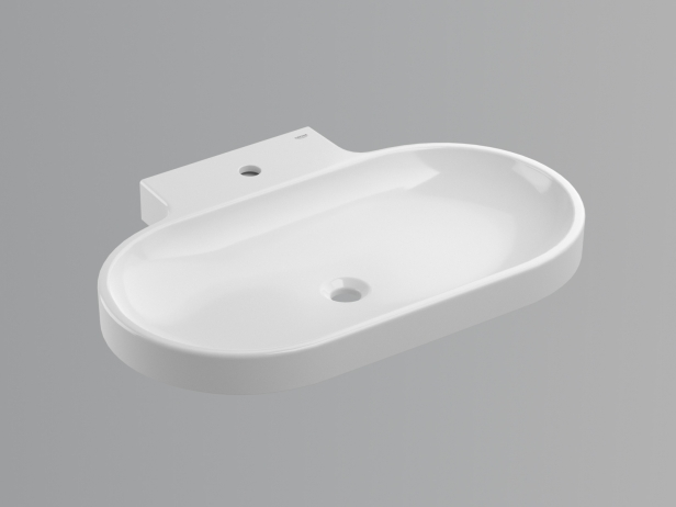 Eurocosmo Countertop Basin 80 Set 3
