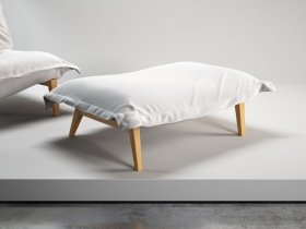 Calin Footstool L Solid Wood