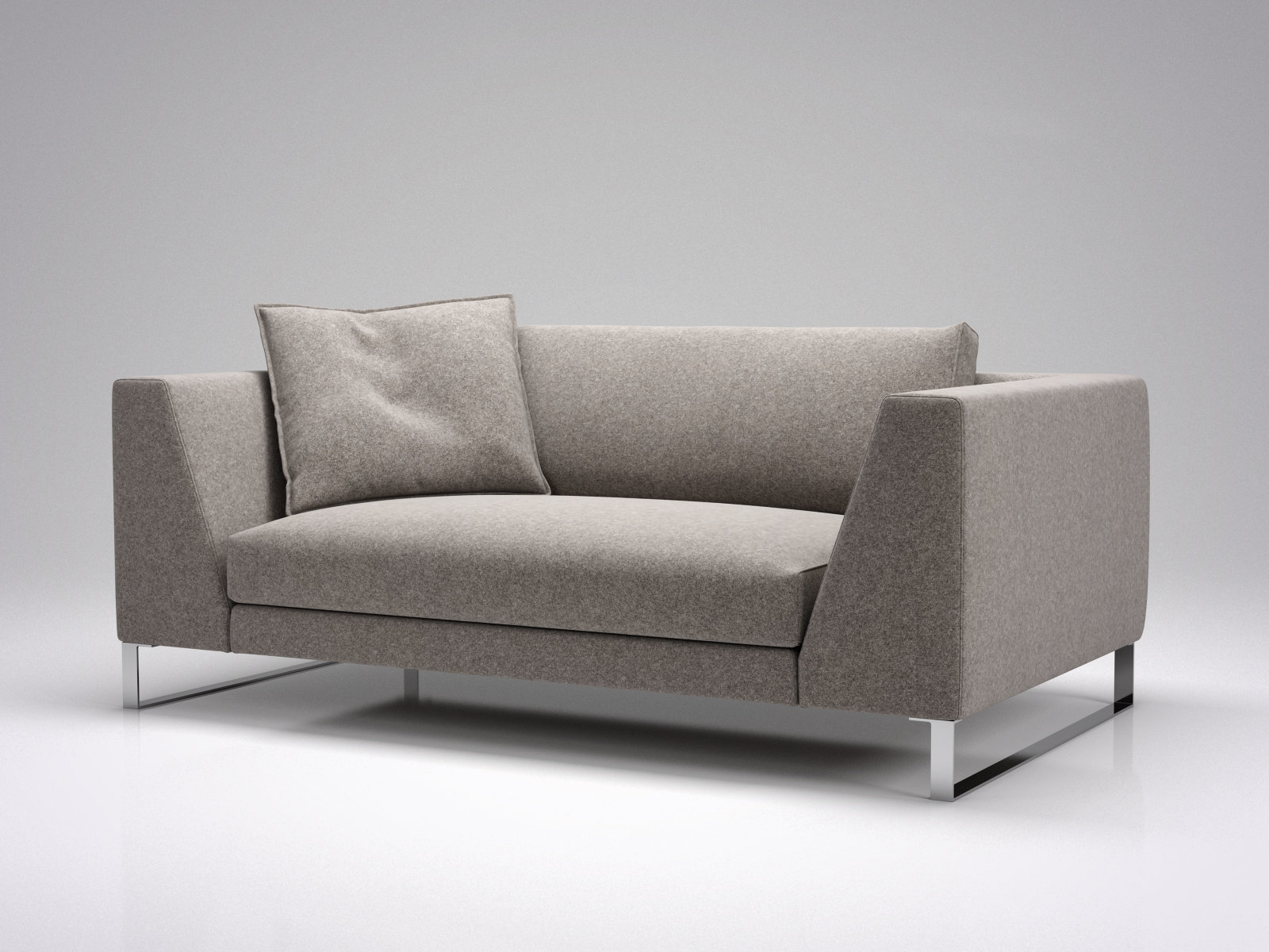 Exclusif 2 Sofa S 3d Model Ligne Roset