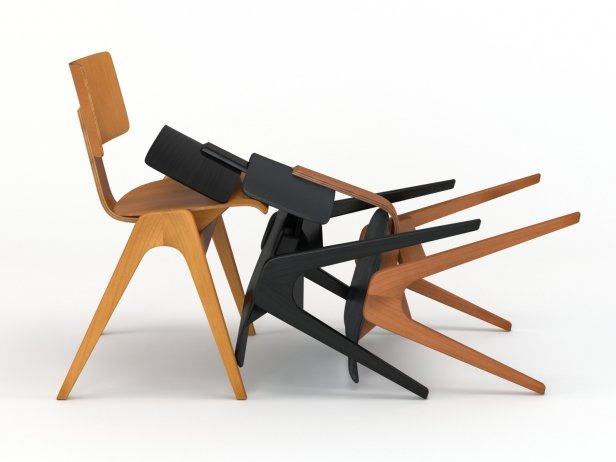 Hille Stak Chair 1