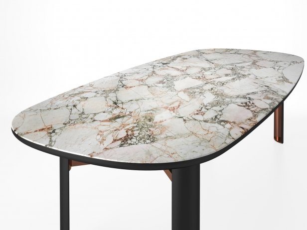 Dan Oval Dining Table 4