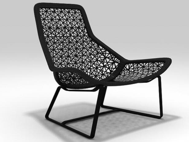 Maia Lounge Chair 3d Model Kettal Spain