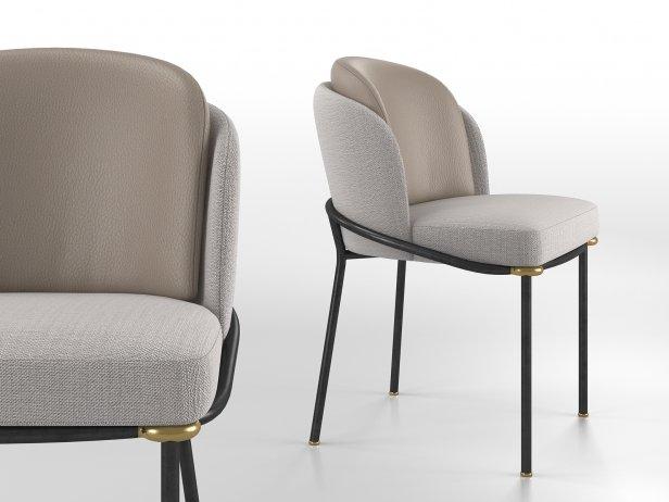 Fil Noir Dining Chair 1