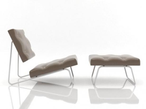 hirche outdoor 3d model richard lampert. Black Bedroom Furniture Sets. Home Design Ideas