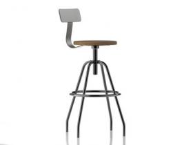 Pewter stool