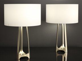 Iron Eye Table Lamp