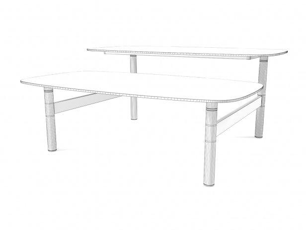 Pantographe Coffee Tables 5