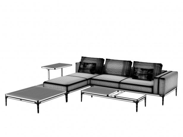 Outdoor Corner Sofa Comp A 3