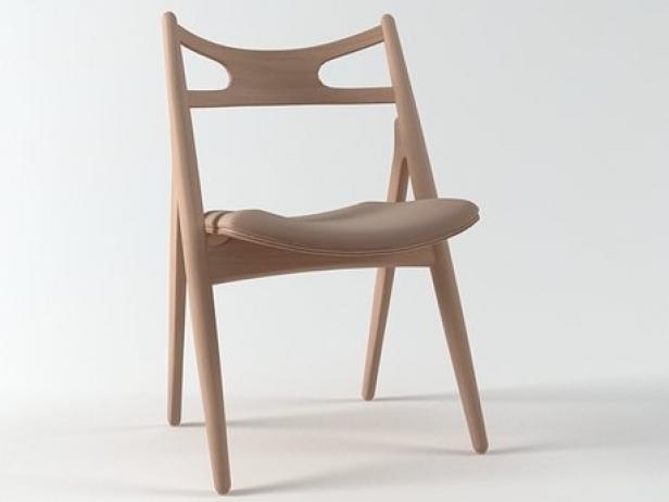 CH29 Sawhorse Chair 1