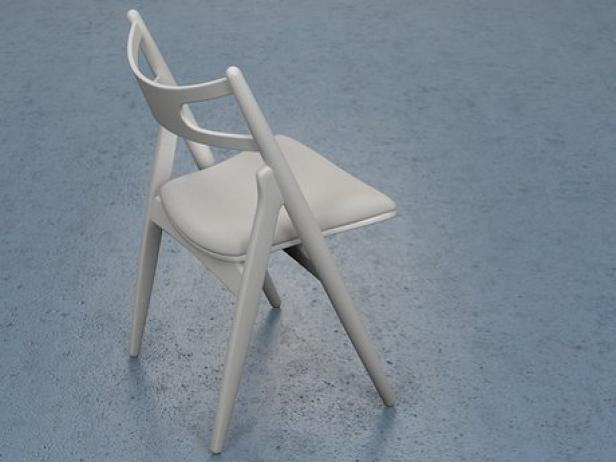 CH29 Sawhorse Chair 6