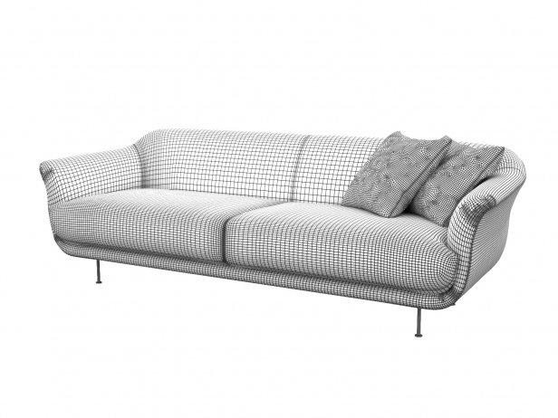 Style 2-Seater Sofa 4