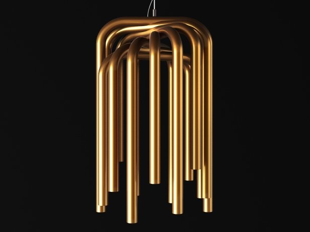 Pipes Suspension Lamp 1