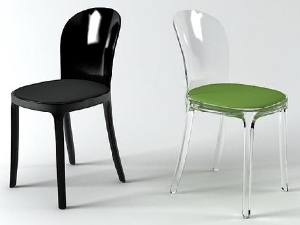 vanity chair. Vanity Chair 2 3d model  Magis