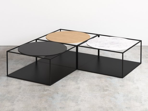 G3 coffee tables 3d model roche bobois - Table ovale marbre roche bobois ...